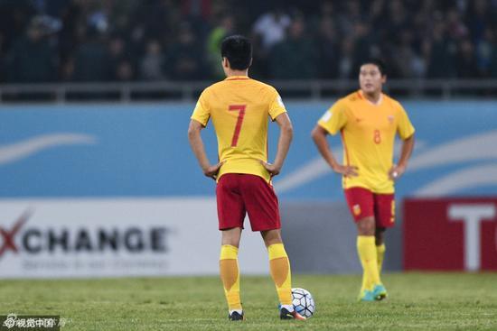国足在预选赛留下的都是苦涩