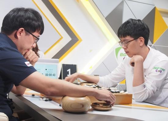 韩联赛第16轮物价信息元晟溱不敌BGF姜东润