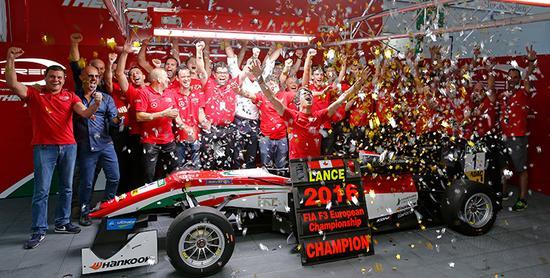2016欧洲F3锦标赛新科冠军兰斯-斯托尔
