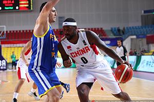 新疆男篮晋级亚冠杯决赛 布莱切两双周琦8+7
