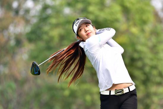 周佳怡征战LPGA