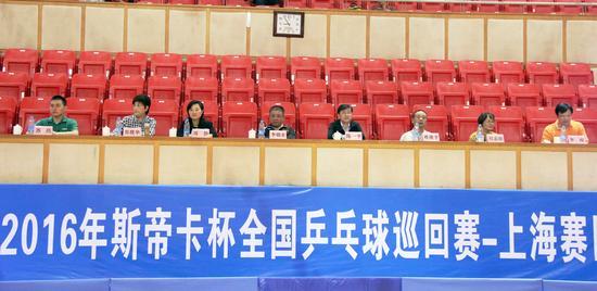 陈一平,李晓东,丽华快餐董事长蒋建平等领导参加开幕式