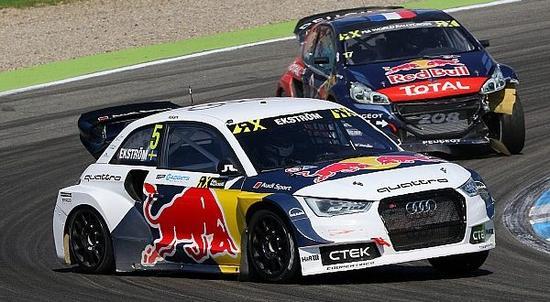瑞典车手埃克斯特罗姆(EKS车队)成功锁定WRX世界冠军