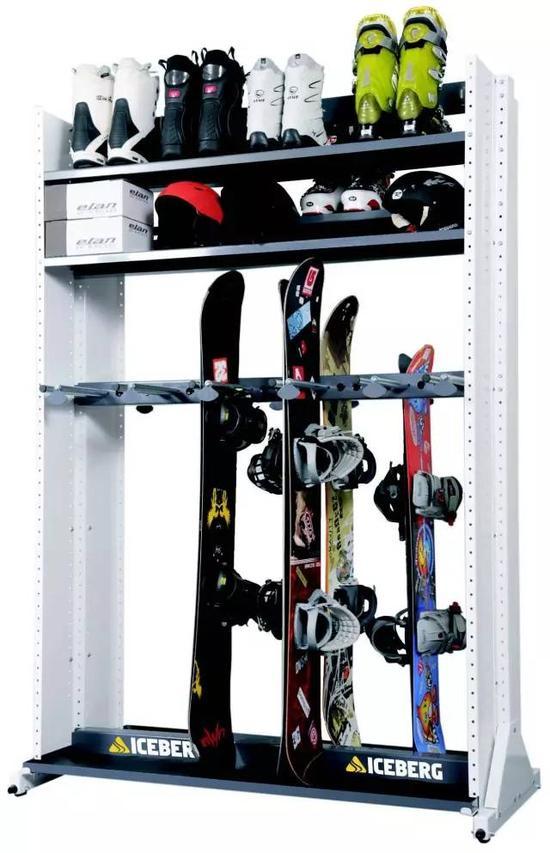 收到最多的礼物变成了滑雪装备