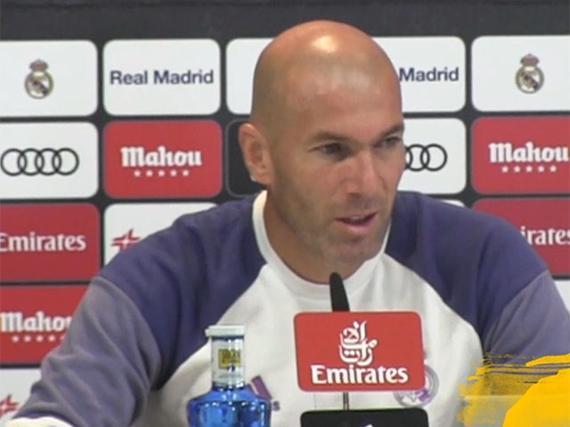 视频-齐达内:我不担心C罗 不久后他就会进球