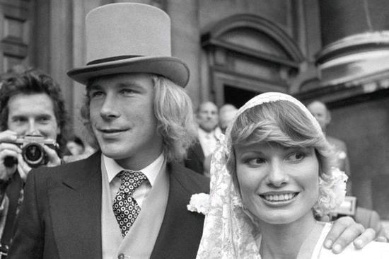 亨特与第一任妻子
