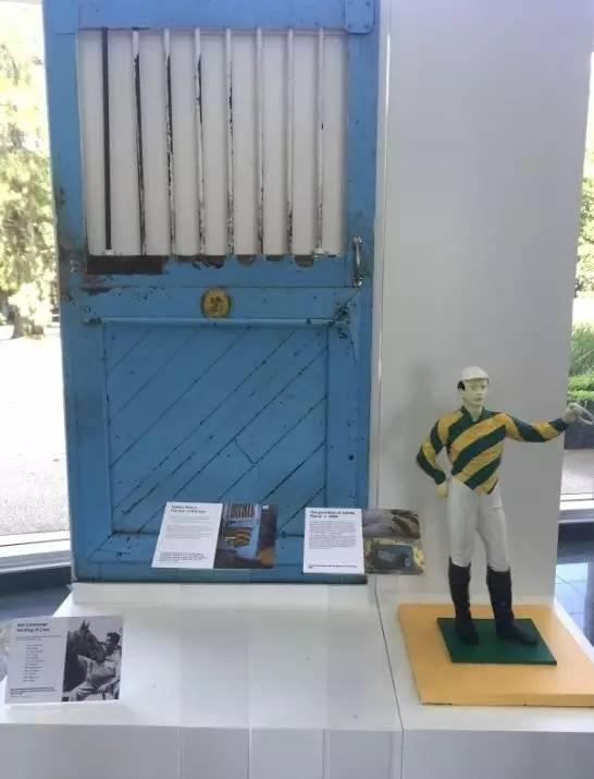 杯王甘明斯生前位于费明顿马房展品
