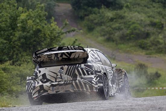 大众正在研发的2017款Polo WRC赛车,或胎死腹中。