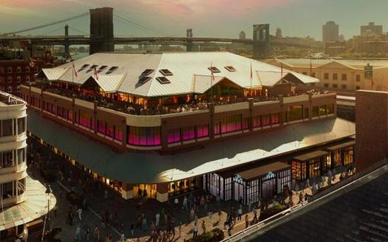 纽约海港区富尔顿市场——赛事官方举办地