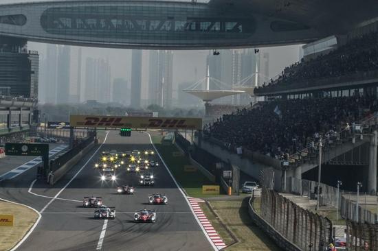 WEC上海6小时赛发车(图片来源:WEC官网)