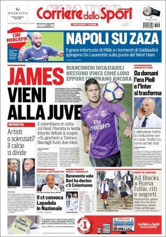 罗马体育报的报道