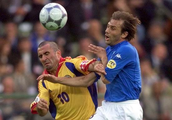 哈吉在欧洲杯上PK孔蒂