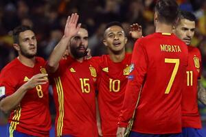 世预赛-科斯塔替身进球席尔瓦助攻 西班牙4-0胜