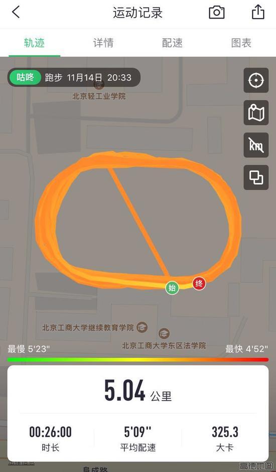 跑步APP记录路线