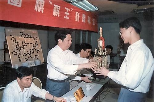 1995年蔡建鹏夺得首届棋王赛冠军