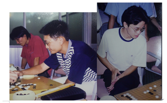 学生棋手代表江应存和林航