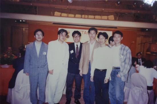 1995年汕头队到香港参加比赛,邂逅沈阳队的三大高手王存、史泓奕、孙志刚
