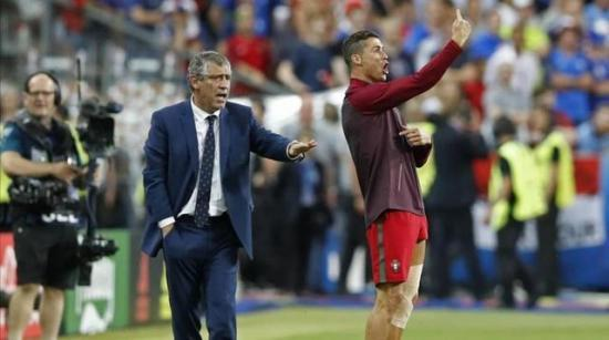 C罗欧洲杯的领袖地位靠的不是场边的指挥