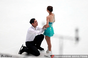 花滑中国杯于小雨/张昊强势登顶 彭程/金杨摘银