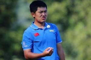 中国业余公开赛首轮日本高中生领先 张俊斌T2