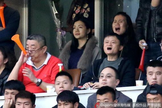 马云向恒大发贺信谈金钱与足球 自称保证不添乱