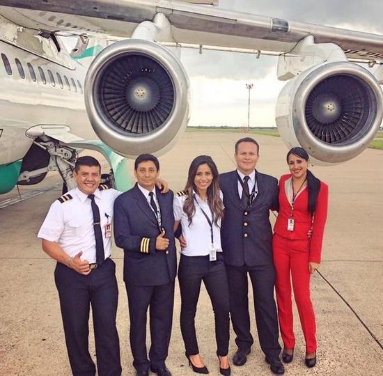 部分机组人员在登机前