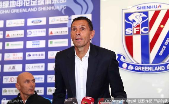 申花新帅:已熟悉球队主力队员 新赛季有2大目标