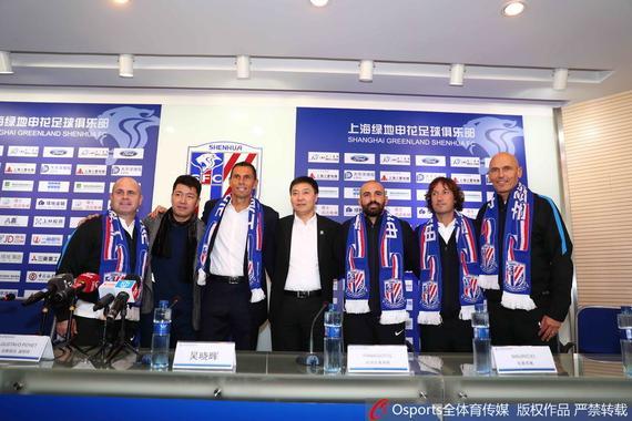 申花老总:重磅前锋1月来 很多上海球员都想回来