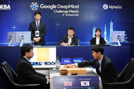 李世石AlphaGo的人机大战