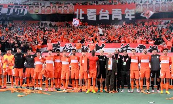 鲁能官方庆祝建队23周年:风雨同行23载生日快乐!