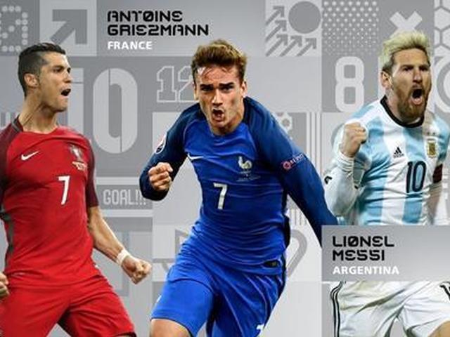 视频-世界足球先生最终候选出炉 梅西C罗马竞神锋入围
