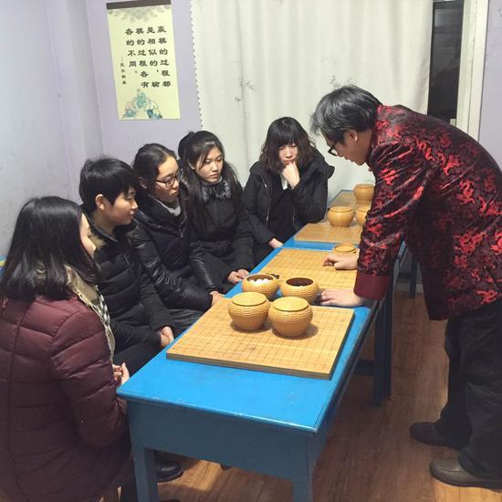 李振沣培训围棋老师们