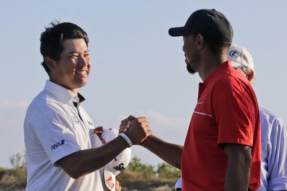 松山英树赢得老虎做东的英雄世界挑战赛