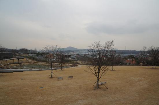 初冬的景色