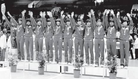 """第五冠:1986年世界女排錦標賽中國女排實現""""五連冠"""""""