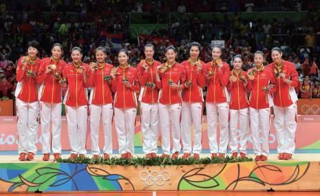 第九冠:2016年裏約奧運會中國女排第九次奪取世界冠軍