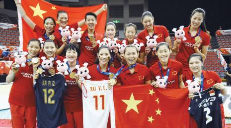 第八冠:2015年世界杯女子排球賽中國女排在傷兵滿營的情況下逆勢奪冠