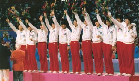 """第三冠:1984年洛杉磯奧運會中國女排實現""""三連冠"""""""