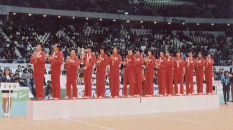 """第四冠:1985年女排世界杯女子排球賽中國實現""""四連冠"""""""
