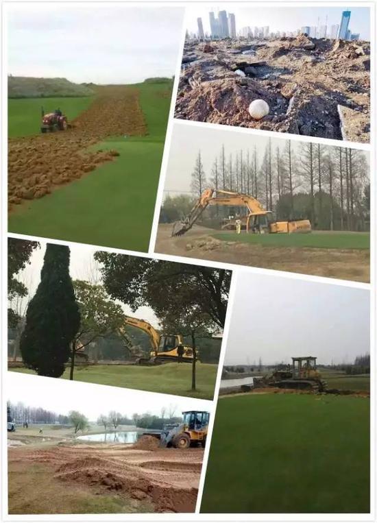 本年头以来,天下各地数十家高尔夫球场被根除