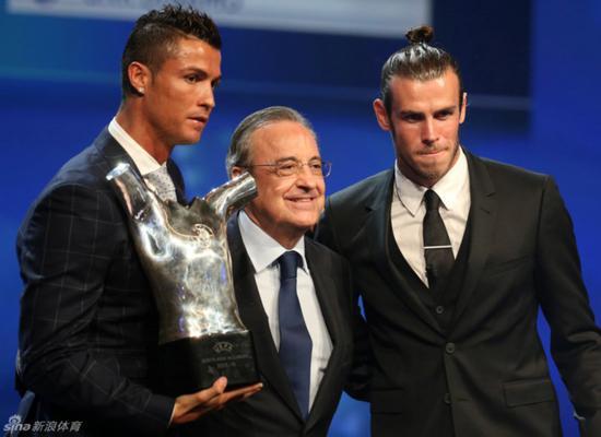C罗获得欧洲最佳球员