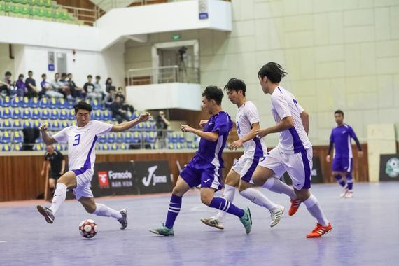 广体4-3北体夺足金联赛总冠军