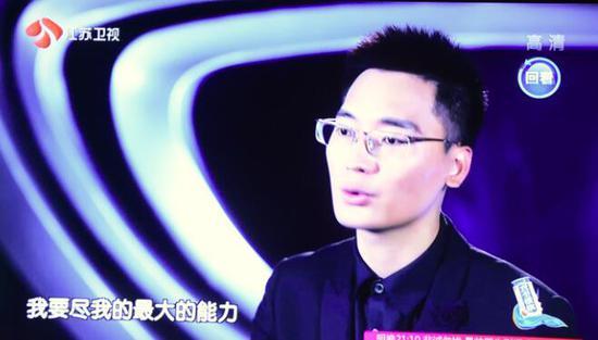 王峰在节目中挑战自我极限