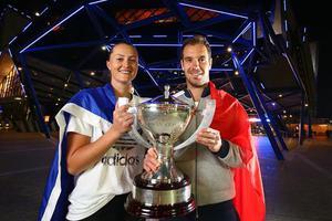 霍普曼杯加斯奎特率法国击败美国 第二度问鼎冠军