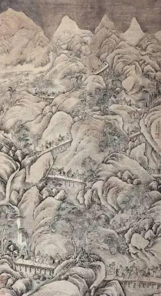 雪山行旅图