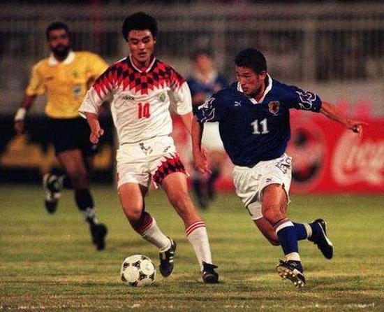 当年和中国队交锋