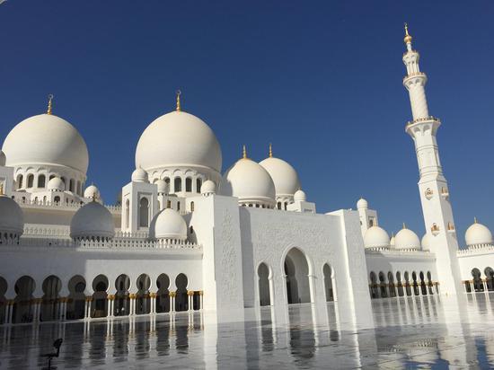 阿布扎比的大清真寺
