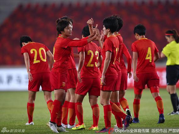 中国女足2-0泰国