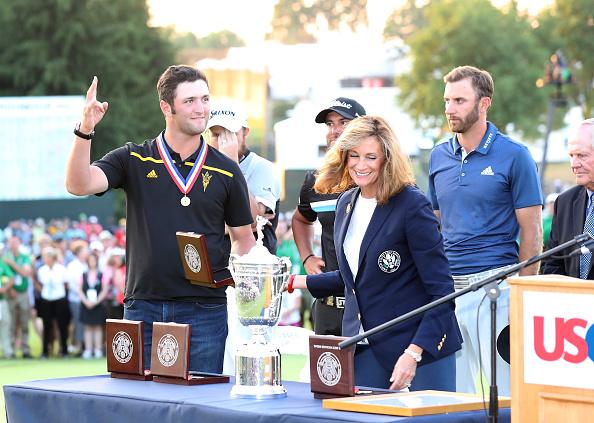 去年美国公开赛获得最佳业余奖