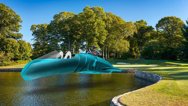 悬浮球车看起来很高科技